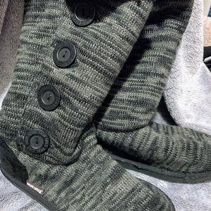 NEW Tall Muk Luks Boots size 9
